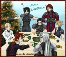 Secret Santa 2013 - Merry Christmas, Zack! by KorNaXon