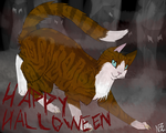 Happy (late) Halloween! by SilverOrcaaKitty17