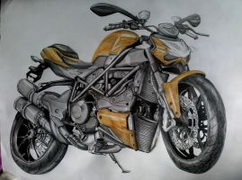 Ducati Streetfighter. by Wojak1991