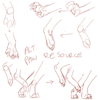 Alternate Paw Resource by Vosska