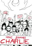 Nous sommes Charlie by Shiito-kun