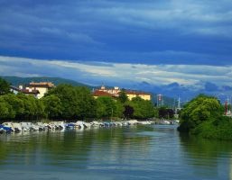 Monfalcone - harbour town by vladioglas