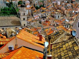 Roofs  of  Dubrovnik by CitizenFresh