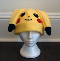 Pikachu Hat by J-R-Creations