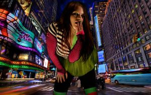 Times Square Colors by vvmasterdrfan