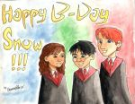 Happy B-Day Snowflakie by BerenicePotter