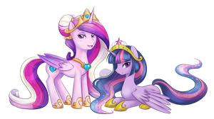 Princesses of Equestria by AskBubbleLee