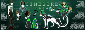 S I N E S T R E - reference sheet by dweebghoul