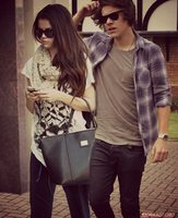 Harry Styles x Selena Gomez by 1derverse