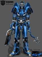 Isterini OC robot mode concept by isterini