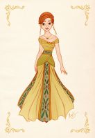 Anna - Princess Designer Collection by alexanderbim