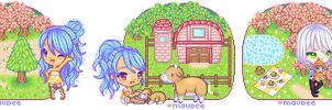 miss harvest moon by sira16inu