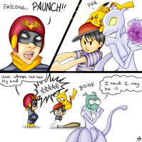 Captain Falcon's Secret Power by Porcelain-Requiem