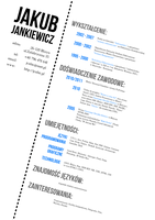 My CV Design by jcubic