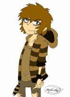 Human Rigby New Design. by vaness96