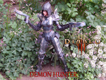 Diablo III - Demon Hunter Fem. by delay-papercraft