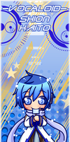 VOCALOID BOOKMARK: KAITO by Kutori