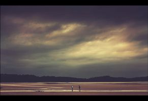 Cramond Sunset by tamaskatai