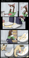 Comic - Milk Trouble by MisterFiS