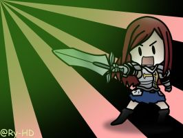 Chibi Erza Scarlet from Fairy Tail by Ry-HD