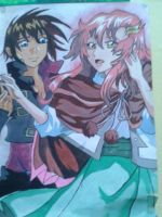 My friend's drawing/painting by Taiyou67
