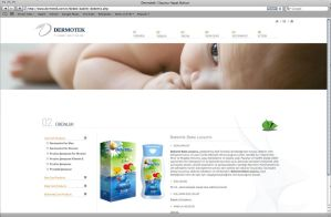 Website Design - Dermotek by grafiket
