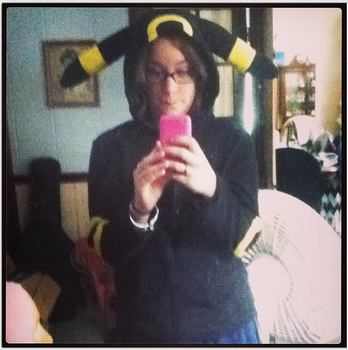 Umbreon Hoodie by LegitLindz