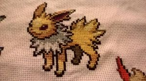 Voltali / Jolteon by MykaStitcher