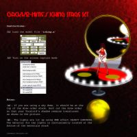 MMD ICHING Stage Set instructions by Trackdancer