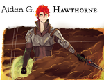 Aiden G. Hawthorne (up-close ) by The-Scarlet-Sky