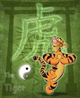 The Tiger by EarthGwee