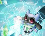 PMD, The Huge Crystal In Waterfall Cave by DrawerElma