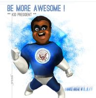 The Incredible KID PRESIDENT ! by Nikkolas-Smith