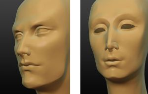 Sculptris Head sketches by art-anti-de