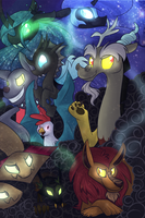 MLP Villains Poster by LittlePinkAlpaca