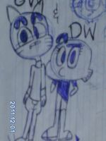 Gumball and Darwin by Yessilneth