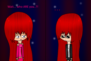 RP: Meeting your Insanity (Colored) by PrincessSkyler