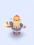 Winter Bard by wivimon