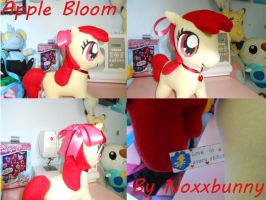 Large Apple Bloom Plush by NoxxBunny