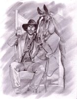 Brisco County Jr BruceCampbell by superchickenn123