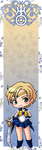 Sailor Uranus bookmark by Marc-G