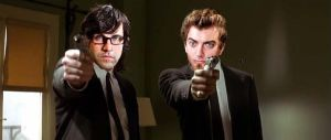 Rhett And Link Pulp Fiction by FireCrotch174