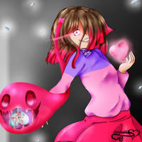 Glitchtale : The soul of FEAR by JasmineM18