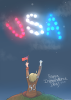 Happy Fourth! by flamingmarshmallows