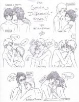 APH - Types of Kisses. by Fayolinn