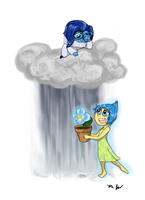 A Little light with every raindrop by KisaSohmaCookie