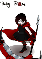 Ruby Rose - a bit modifed by Raaeno