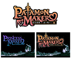 Patamon Maker - Parody Logo by Bunni89