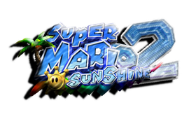 Super Mario Sunshine 2: Logo- Final Verison? by xXCamTroXx