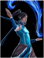 Fan Art Korra by GustavoDoc